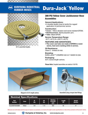 Dura Jack Yellow Hose flyer