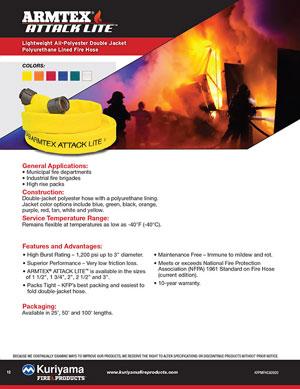 Armtex Attack Lite Fire Hose