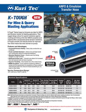 Kuri-Tec K-Tough Anfo flyer