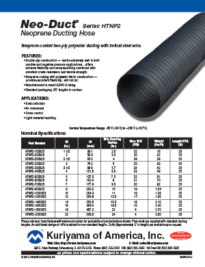 Ducting Hose Flyer Neo Duct
