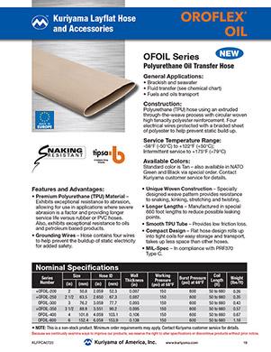 Oroflex Oil hose