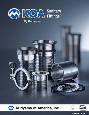 Kuriyama Sanitary Fittings Catalog