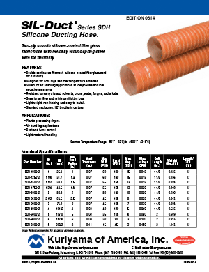 Ducting Hose Flyer SIL Duct
