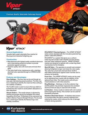 Viper Attack flyer