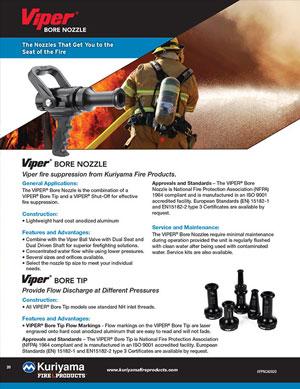 Viper Bore Nozzle brochure