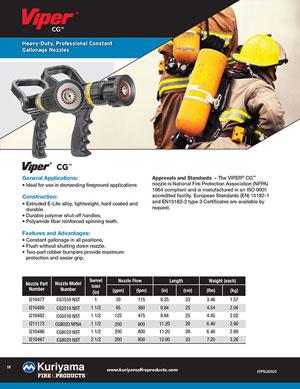 Viper CG nozzle