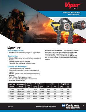 Viper FT nozzle